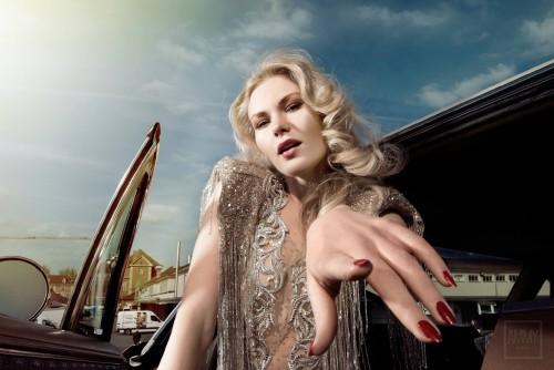 Editorial: Estela Mag. Fashion: Atelier Lorand Lajos. Pic: Ammy Berent. Styling: Simone Breu. Model: Klarika Klara Koly