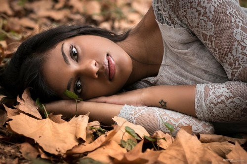 """""""Autumn"""". Model: Letitia Fontana. Ph: Domenico Monteleone - Photography – Letitia Fontana."""