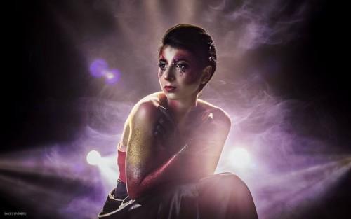 Modèle : Cyrine Mest. MakeUp Artist : Manon Mortemousque. Photographe : Maxime Rocher. Studio : Studio Light Photo