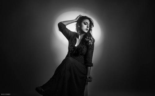 Modèle : Annamaria AB. MakeUp Artist : Amélie Chomienne. Photographe : Maxime Rocher. Studio : Studio Light Photo