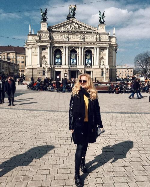 Lviv, Ukraine. Anna Hrehlevych