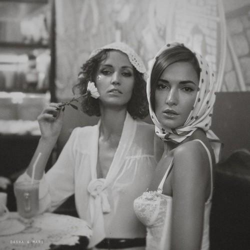 Dasha and Mari K.